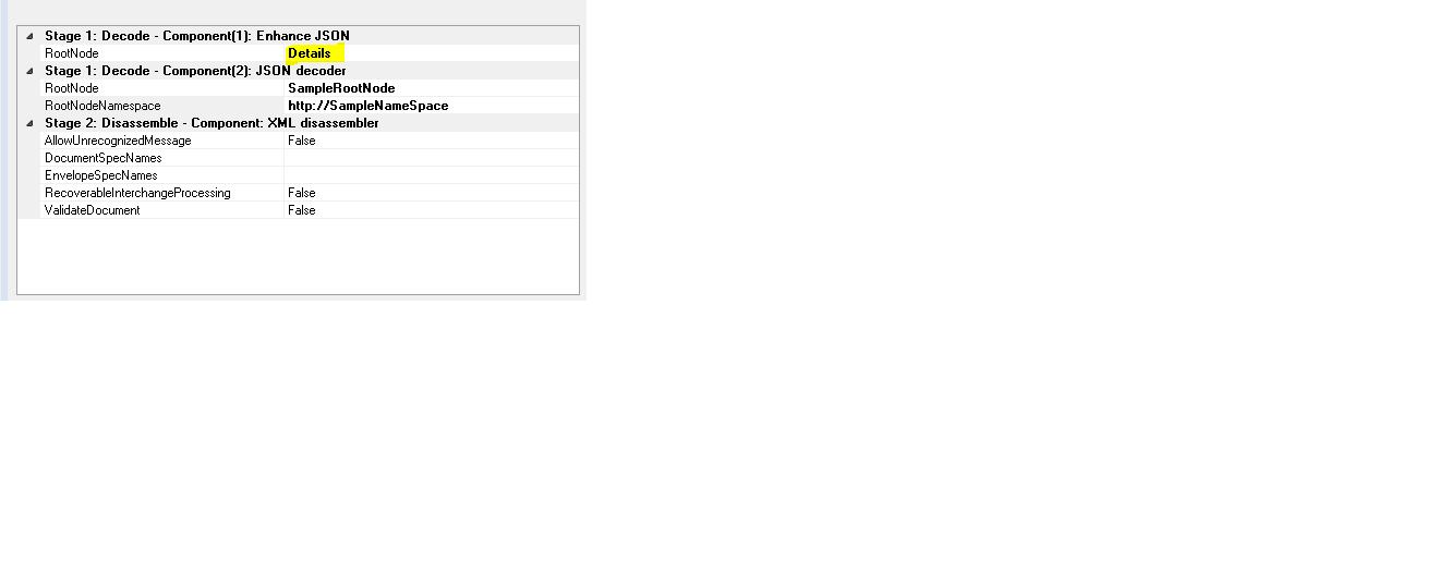 Handle Array/List Json messages in BizTalk Receive Pipeline